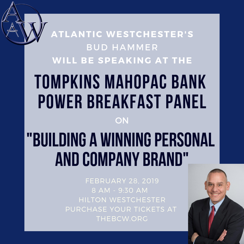 Bud Hammer to Speak at The Business Council of Westchester's Power Breakfast on 2/28